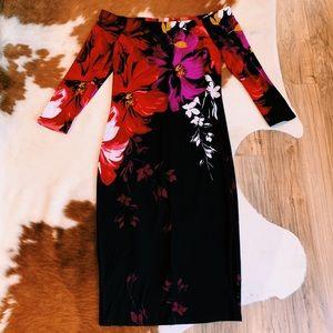 Floral Venus dress
